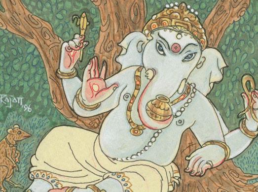 Paintings and Drawings of Ganesha
