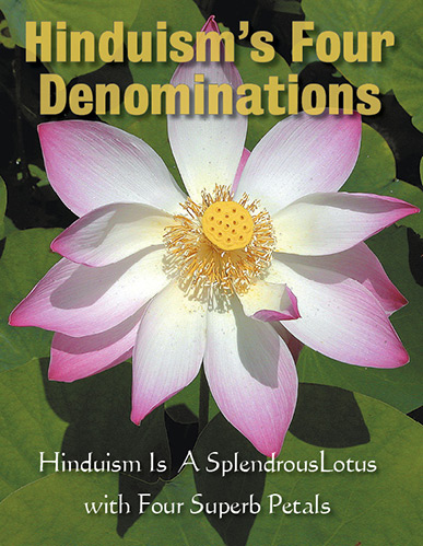 Image of Four Denominations of Hinduism