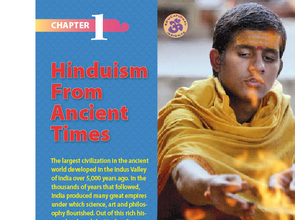 >Hindu History Lesson Chapter One