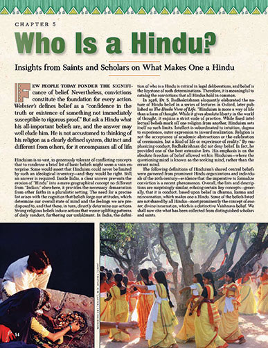 Image of Who Is a Hindu?
