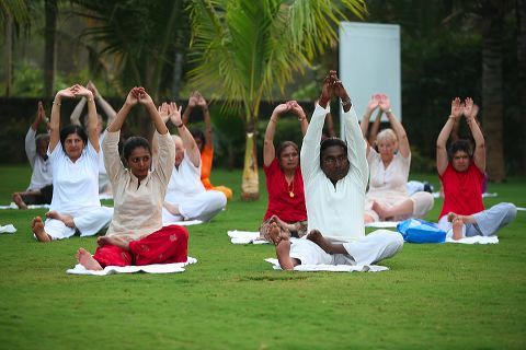 Hatha Yoga in Kerala, 2008